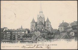 Vue De La Solitude, La Cathédrale, Lausanne, Vaud, 1903 - Burgy U/B CPA - VD Vaud