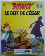 RARE JEU PC INFOGRAMES PHILIPS CD ASTERIX LE DEFI DE CESAR 1993 Dans Sa Boîte - Sony PlayStation