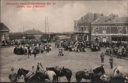 ! 1. Weltkrieg Abtransport Der Französischen Zivilbevölkerung über Die Schweiz Nach Frankreicg, Gare - Guerre 1914-18