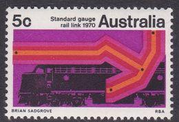 Australia ASC 489 1970 Standard Gauge Railway, Mint Never Hinged - Mint Stamps