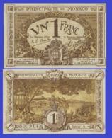 Monaco 1 Francs 1920 - REPLICA --  REPRODUCTION - Monaco