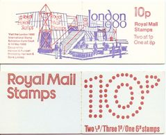 Grande-Bretagne 1975/80 - Petit Lot De 2 Carnets MNH - C614 & C699a - London 1900 - Carnets