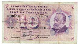 Svizzera 10 Francs 1967 LOTTO 652 - Svizzera
