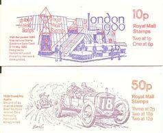 Grande-Bretagne 1979/80 - Petit Lot De 2 Carnets MNH - C692a & C699a - Grand Prix Austin - London 1900 - Carnets