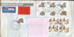 South Africa - Letter Circulated In 1984 From Durban North To New Milton UK  - 2/scans - South Africa (1961-...)