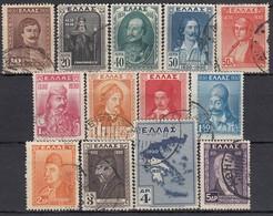 GRIECHENLAND 1930 -  MiNr: 327-344 13 Werte  Used - Griechenland