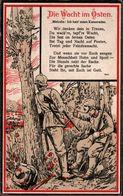 ! Alte Ansichtskarte Die Wacht Im Osten, Propaganda, 1915, 1. Weltkrieg, WW1, WWI - Guerre 1914-18