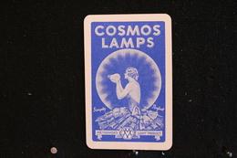 Playing Cards/Carte A Jouer /1 Dos De Cartes,Inscription-Publicitaire / Cosmos Lamps - Metrovick's - Light Product - - Objets Publicitaires