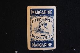 Playing Cards / Carte A Jouer / 1 Dos De Cartes,Inscription - Publicitaire / Margarine, Fleur Des Prés - Objets Publicitaires