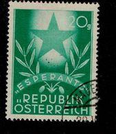 Österreich 935 Esperanto Kongress Used Gestempelt - 1945-.... 2nd Republic