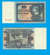 Poland 10   Zloty 1928 - REPLICA --  REPRODUCTION - Poland