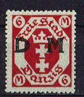 Danzig 1922 // Mi. D26 ** (025..484) - Dantzig