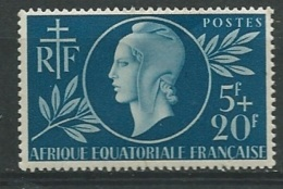 A.E.F. Yvert N° 197  **  - Ava 19005 - A.E.F. (1936-1958)