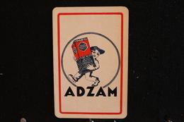 Playing Cards / Carte A Jouer / 1 Dos De Cartes Avec Publicité /  Tube Radio - Adzam - Objets Publicitaires
