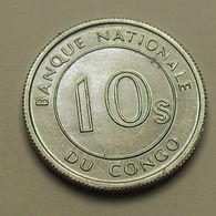 1967 - Congo Democratic Republic - 10 SENGI, KM 7 - Kongo (Dem. Republik 1998)