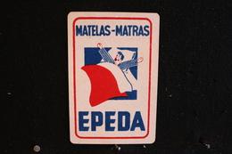 Playing Cards / Carte A Jouer / 1 Dos De Cartes Avec Publicité / Matelas-Matras - EPEDA - Objets Publicitaires