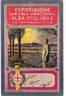 ALBA_CN_Esposizione Agricola-Industriale-Illustratore.Ceschi N.-Ago-Sett- 1903-Pubbl.Advertising-Originale 100%-an - Expositions