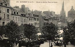 GUINGAMP MARCHE AU BEURRE  PLACE DE CENTRE - Guingamp