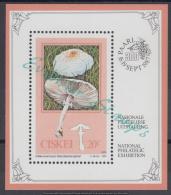 Ciskei 1987 Edible Mushrooms (ss). MNH - Ciskei