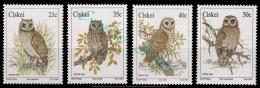 Ciskei 1991 Owls. MNH - Ciskei