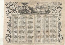 1851 GRAVE - Calendars