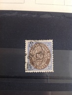 Danish West Indies DWI 1873-1902 10c Brown And Blue SG 23 Used - Danemark (Antilles)