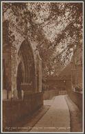 West Doorway, Chichester Cathedral, Sussex, C.1920 - Judges RP Postcard - Chichester