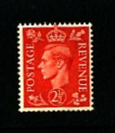 GREAT BRITAIN - 1951  KGVI  2 1/2d  COLOURS CHANGED  WMK SIDEWAYS  MINT  NH - 1902-1951 (Re)