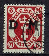 Danzig 1922 // Mi. D26 O (025..489) - Dantzig