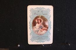 Playing Cards / Carte A Jouer / 1 Dos De Cartes Avec Publicité / H.m  Keizerin Eugenie - Brussel, Bruxelles - Objets Publicitaires