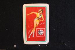 Playing Cards / Carte A Jouer / 1 Dos De Cartes Avec Publicité / Huiles Veedol - Objets Publicitaires