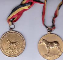 Malderen 2 Jaarmarkt Medailles 1970 Paarden - Tourist