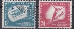 Go_ DDR - Mi.Nr. 280 - 281 - Gestempelt Used - DDR