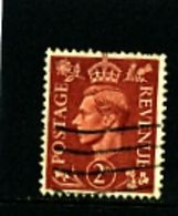 GREAT BRITAIN - 1951  KGVI  2d  COLOURS CHANGED  WMK INVERTED  FINE USED - Usati