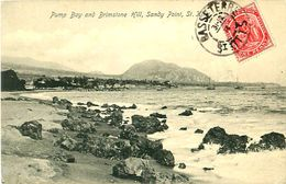 Cpa ST KITTS - Pump Bay And Brimstone Hill, Sandy Point - Saint Kitts E Nevis