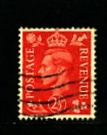GREAT BRITAIN - 1951  KGVI  2 1/2d  COLOURS CHANGED  WMK INVERTED  FINE USED - Usati