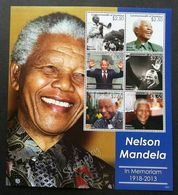 Dominica Nelson Mandela In Memoriam 2013 (sheetlet) MNH - Dominica (1978-...)
