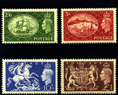 GREAT BRITAIN - 1951  FESTIVAL  HIGH VALUES   SET  MINT NH - 1902-1951 (Re)