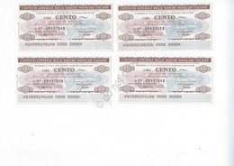 Lotto Di 3 MiniAssegni - Istituto Italiano Banche Popolari - 4 MiniCheck Lot - 1946-… : República