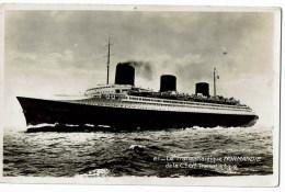 21 Normandie - Dampfer