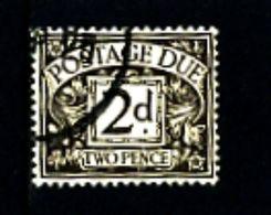 GREAT BRITAIN - 1924  POSTAGE DUES  2d WMK  BLOCK CYPHER  FINE USED  SG D13 - Impuestos
