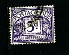 GREAT BRITAIN - 1924  POSTAGE DUES  3d WMK  BLOCK CYPHER  FINE USED  SG D14 - Tasse