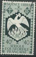 A.E.F.  - Yvert N° 145 Oblitéré  - Ava 19105 - A.E.F. (1936-1958)