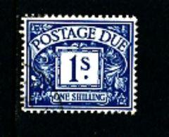 GREAT BRITAIN - 1924  POSTAGE DUES  1s WMK  BLOCK CYPHER  FINE USED  SG D17 - Impuestos