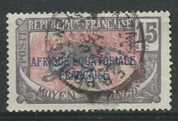 Congo Français  - Yvert N° 77 Oblitéré - Ava 19118 - Congo Francese (1891-1960)