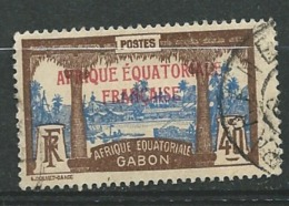 Gabon Yvert N° 100 Oblitéré   Ava 19131 - Gabon (1886-1936)