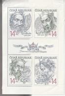 Czech Rep. 1996 The Luxembourg Dynasty 4v. * - República Checa