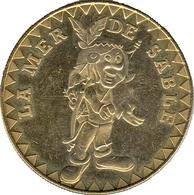 60 ERMENONVILLE LA MER DE SABLE N°1 INDIEN MÉDAILLE MONNAIE DE PARIS 2005 JETON TOKEN MEDALS COINS - Arthus Bertrand