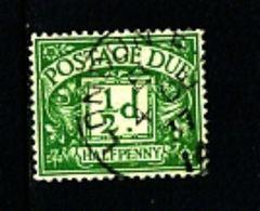 GREAT BRITAIN - 1936 POSTAGE DUES 1/2d  WMK EDWARD FINE USED  SG D19 - Tasse