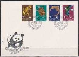 Lichtenstein FDC  1976  MiNr.644 - 647 Weltweiter Naturschutz: WWF ( D 3123 ) Günstige Versandkosten - FDC
